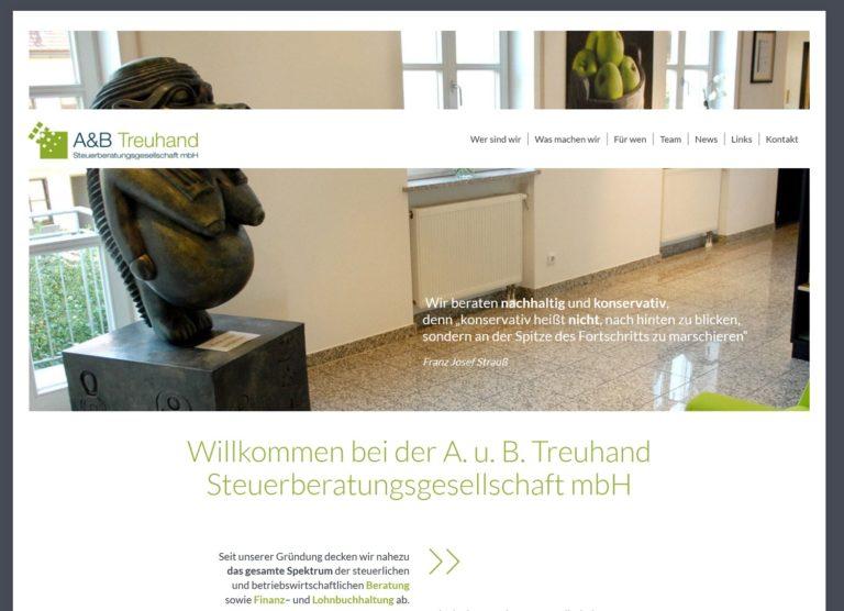 Startseite AuB Webseite